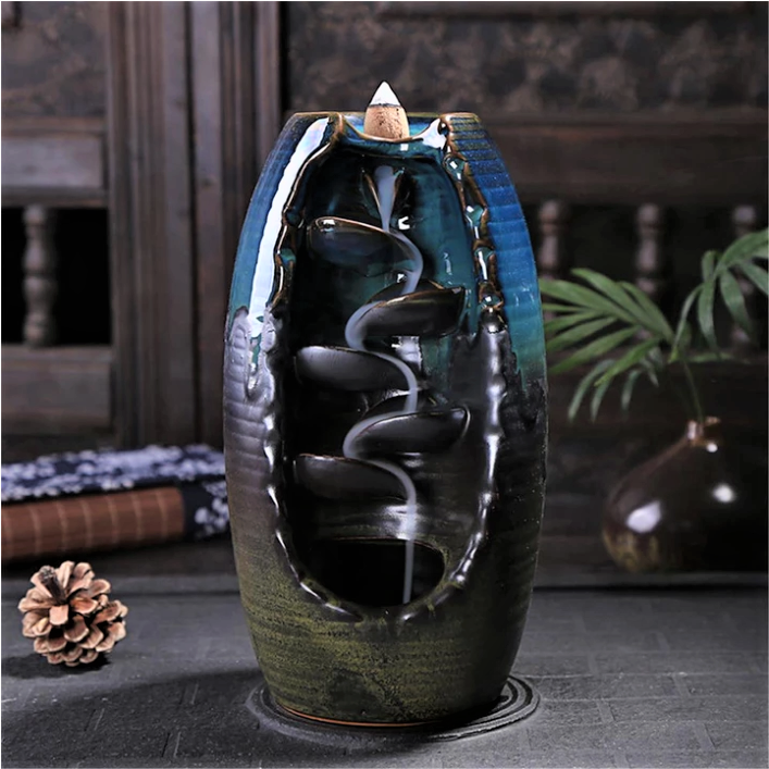 Tranquil Waterfall Incense Burner