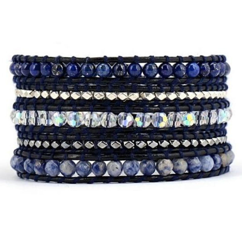 Stillness Speaks Wrap Bracelet