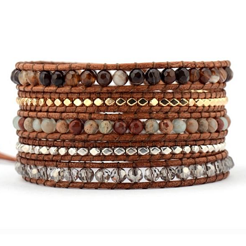 Solid Ground Wrap Bracelet