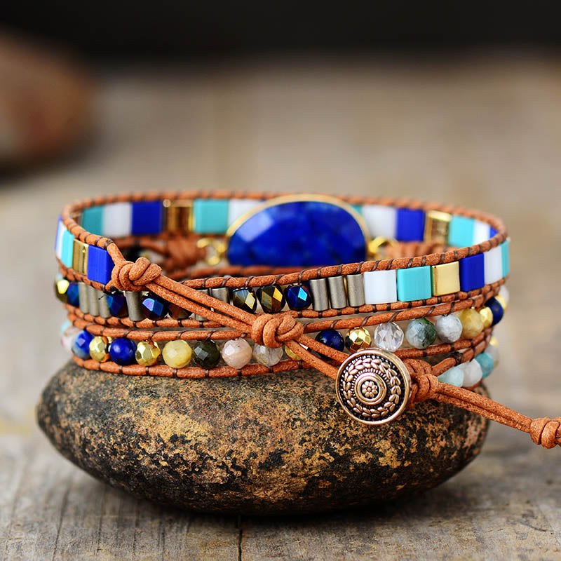 RIDE THE WAVE Wrap Bracelet