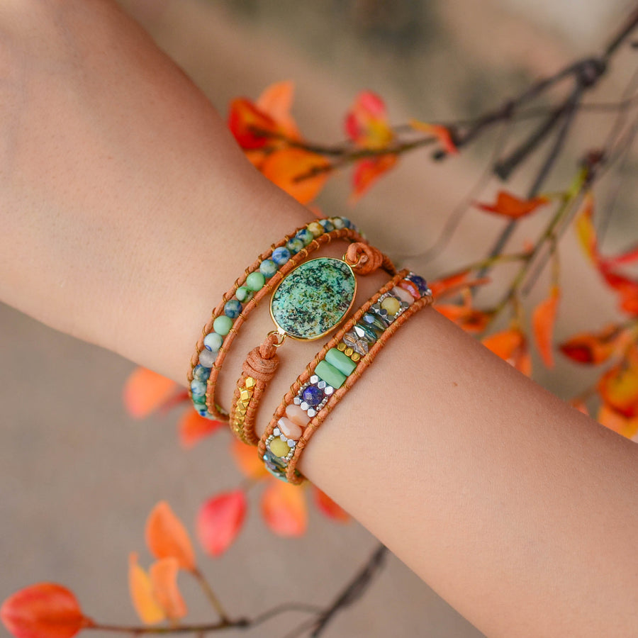 Authentic Truth Chrysocolla Bracelet