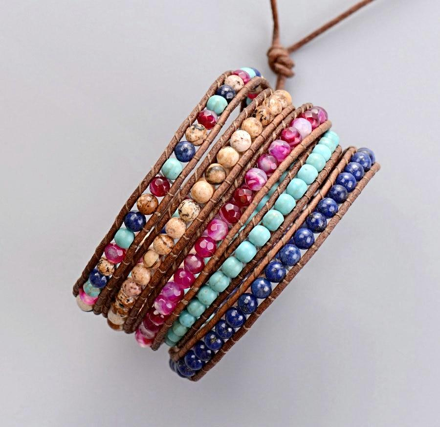 Dreamy 5 Layer Wrap Bracelet