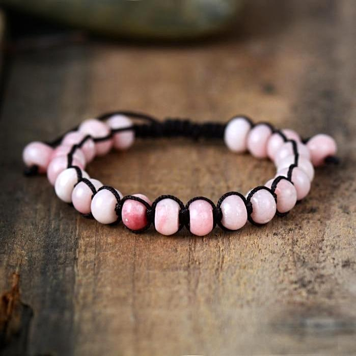 Hopeful Pink Opal Bracelet
