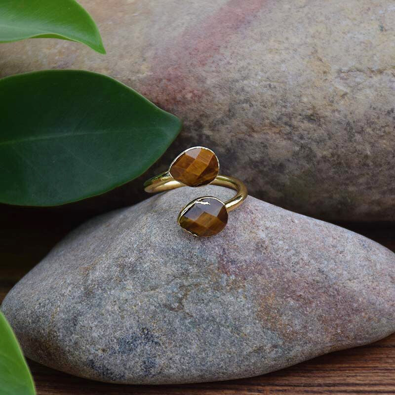 Gold Tiger's Eye Ring