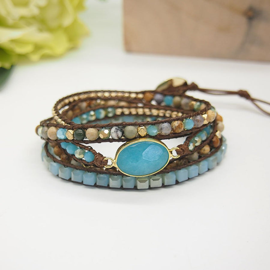 Calming & Cleansing Wrap Bracelet
