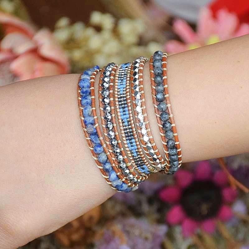 Depths of Solitude Wrap Bracelet