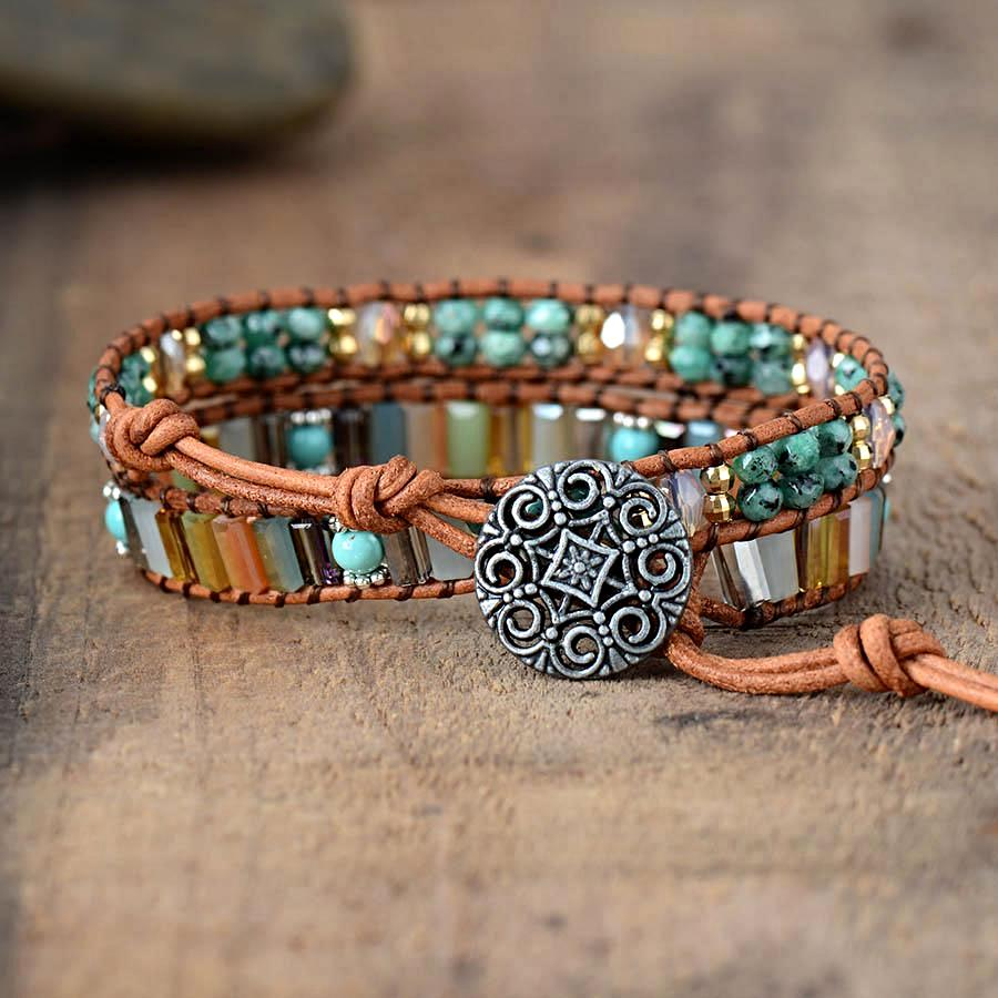 Joyful Spirit Wrap Bracelet