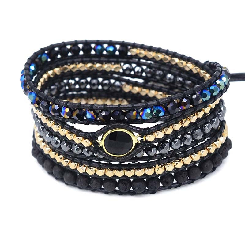The Ultimate Detox 5 Layer Wrap Bracelet