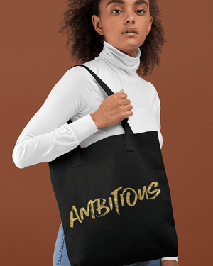 Ambition is Golden Tote Bag