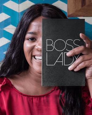 Boss Lady Softcover Glitter Journal