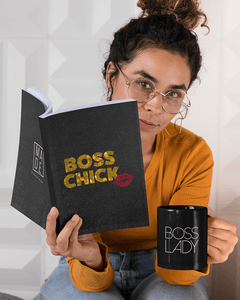 Boss Chick Softcover Glitter Journal