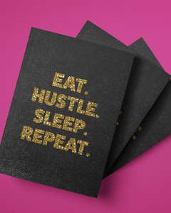 Eat Hustle Sleep Repeat Softcover Journal