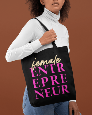 A Female Entrepreneur Tote Bag