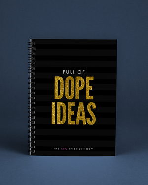 Full of Dope Ideas Notebook
