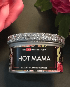 Hot Mama Sassy 8oz Candle Tin