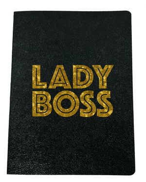 Lady Boss Softcover Glitter Journal