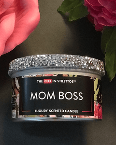 Mom Boss Sassy 8oz Candle Tin
