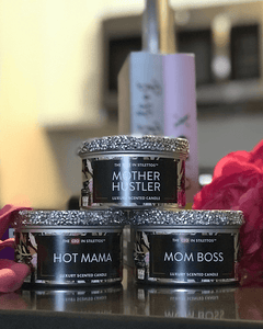 Sassy Mama 8oz Candle Tins Set of 3