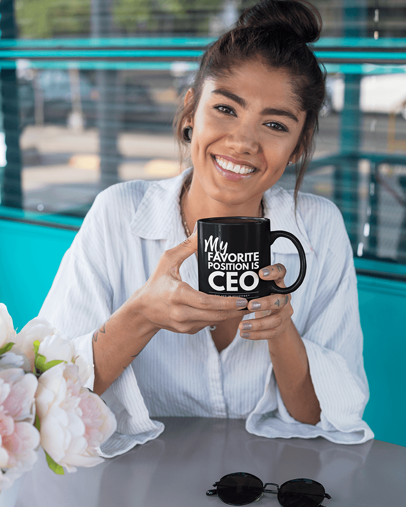 My Favorite Position is CEO Mug