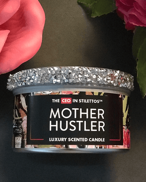 Mother Hustler Sassy Candle Tin