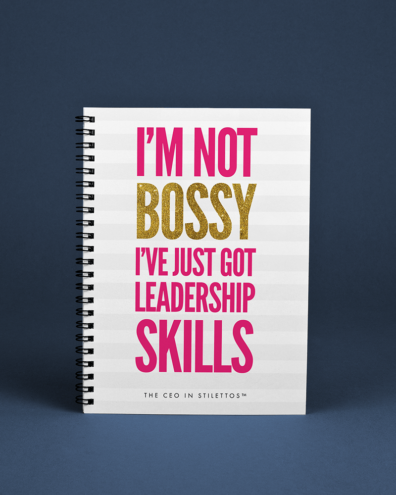 I'm Not Bossy Notebook