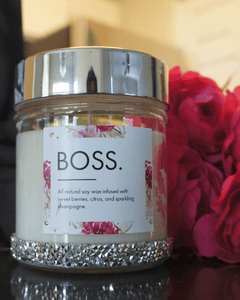 Boss Sassy 10oz Candle Jar