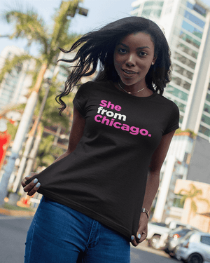 She from Chicago T-Shirt