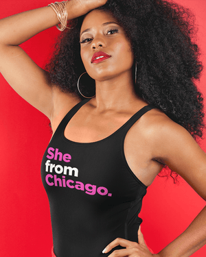 She from Chicago Tank