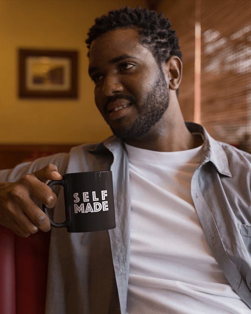 Self-Made Man Coffee Mug