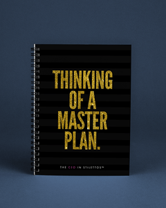 Thinking of a Master Plan Notebook