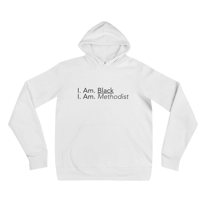 Black Methodist White Pullover hoodie