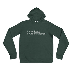 Black Methodist Pullover Hoodie