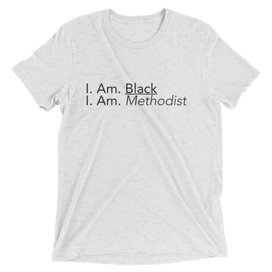 Black Methodist T-Shirt (White)