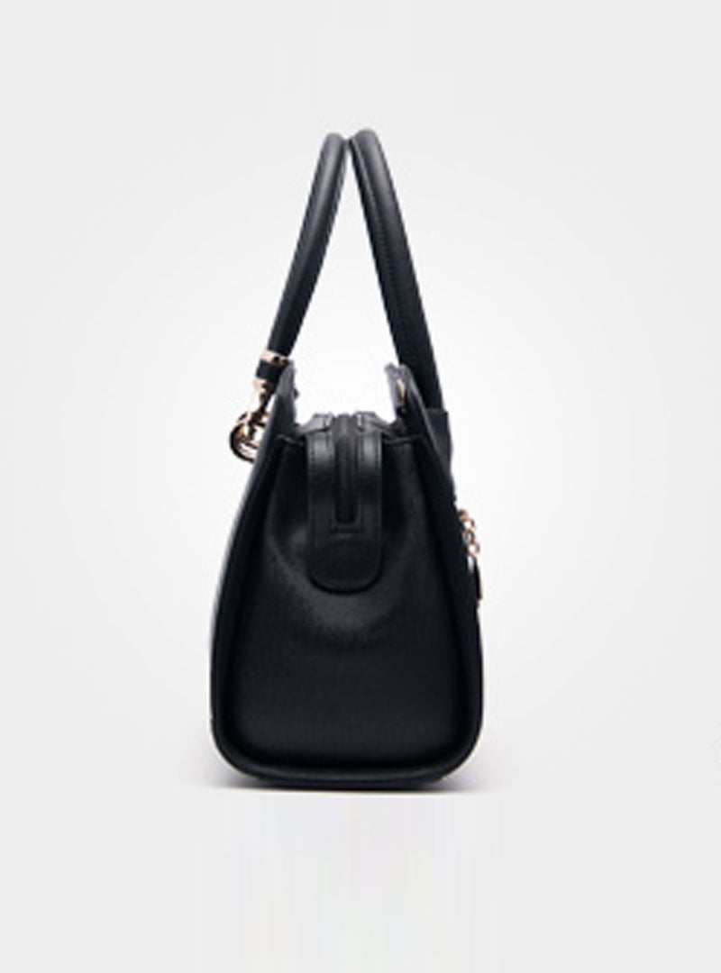 Black Convertible Fashion Tote Bag