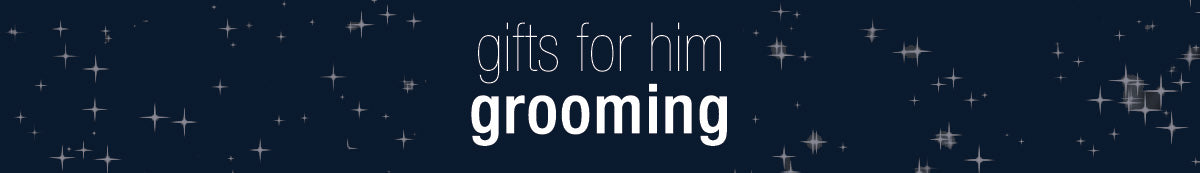 Find the perfect GROOMING GIFT for HIM this holiday season at Ron Herman