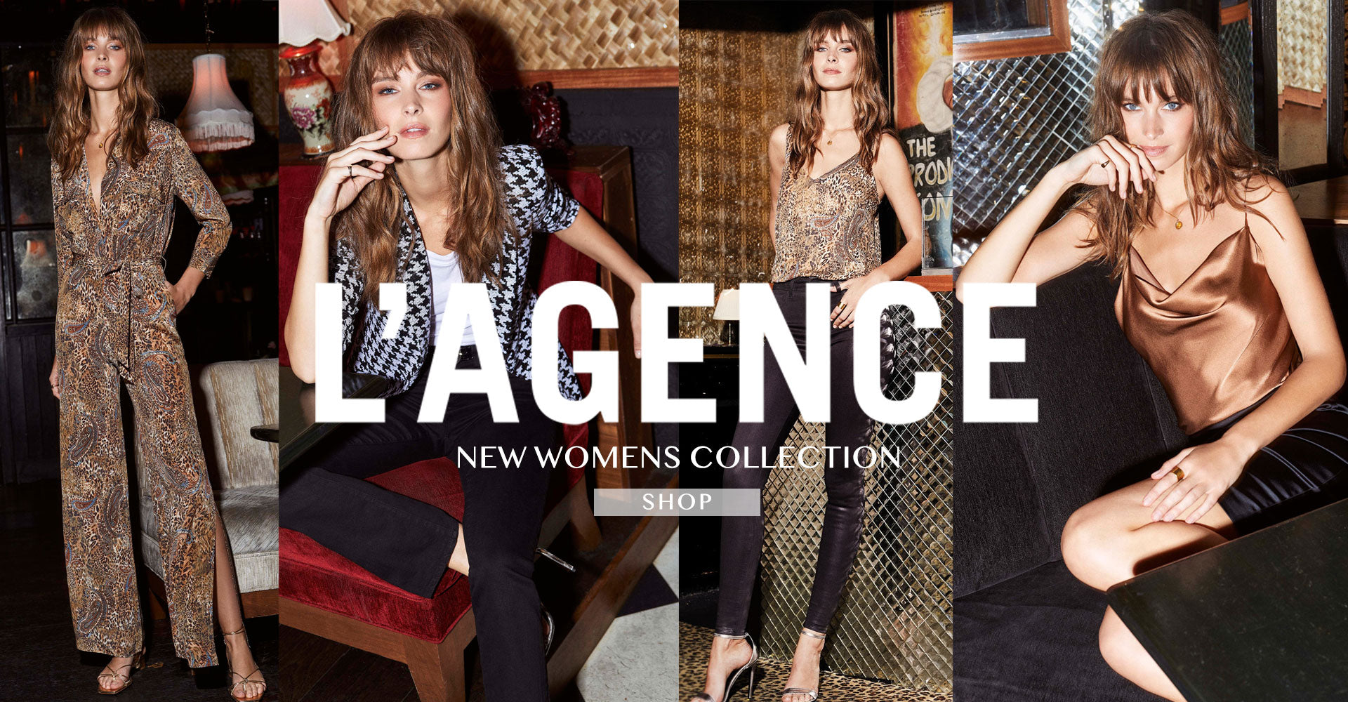 L'Agence Holiday Essentials for Every Occasion Shop the NEW L'Agence Womens Collection at Ron Herman SHOP L'AGENCE