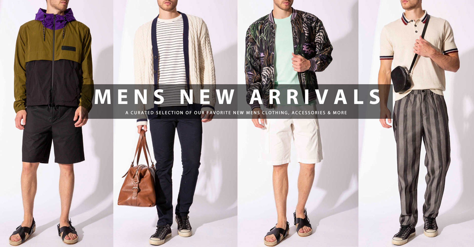 Mens New Arrivals Shop Our Curated Selection of Our Favorite New Mens Clothing, Accessories & More Shop Our Curated Selection of Our Favorite New Mens Clothing, Accessories & More