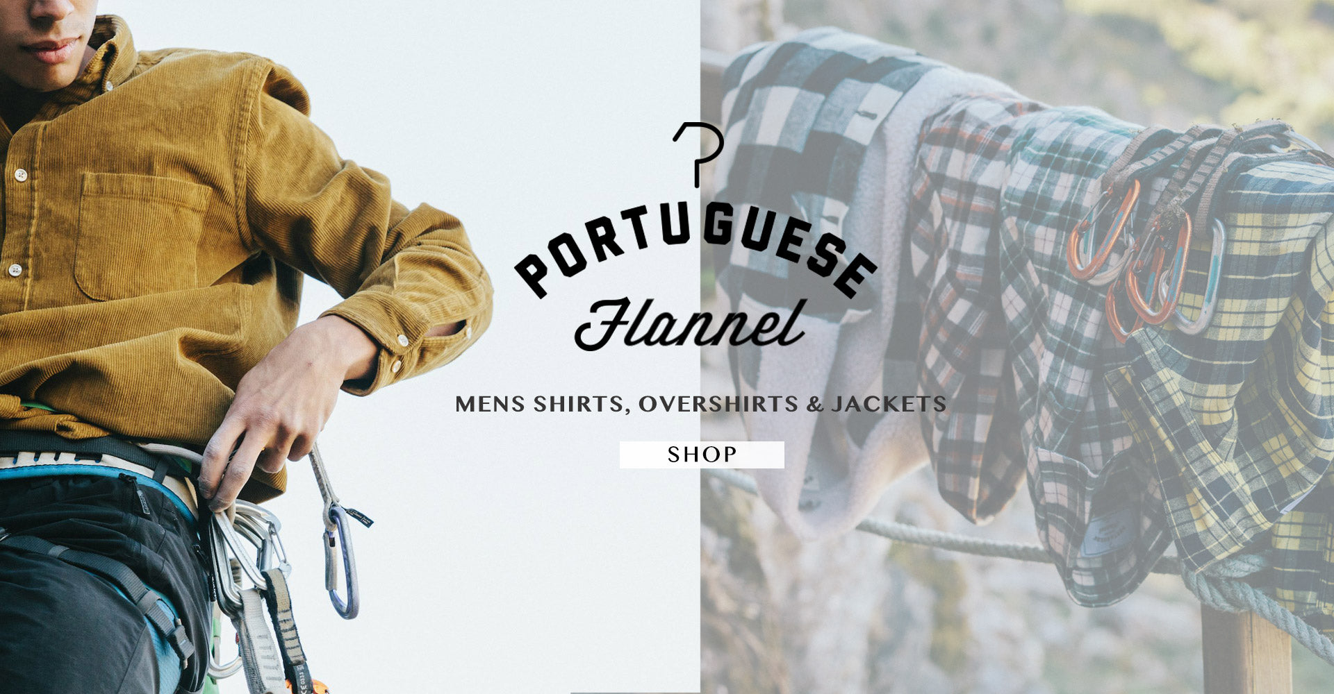 Portuguese Flannel Mens Shirts, Overshirts & Jackets Shop the NEW Menswear Collection Shop the NEW Portuguese Flannel Menswear Collection