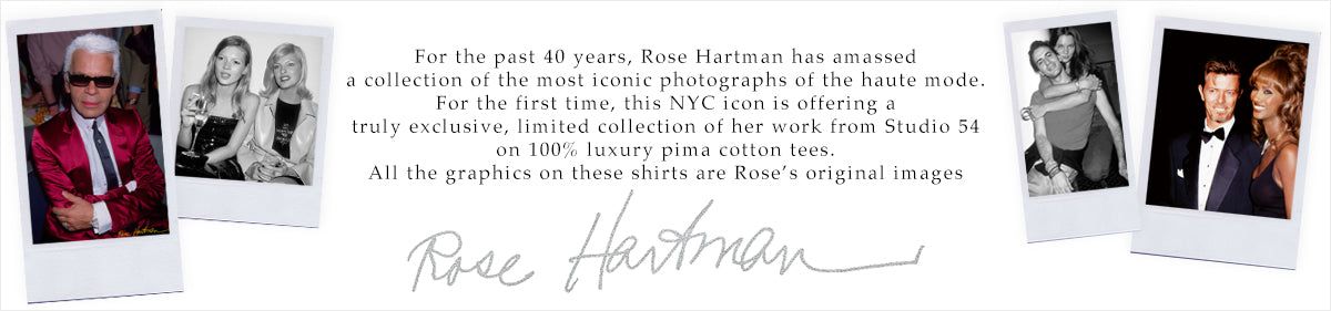 Rose Hartman Exclusive Limited Collection T-Shirts