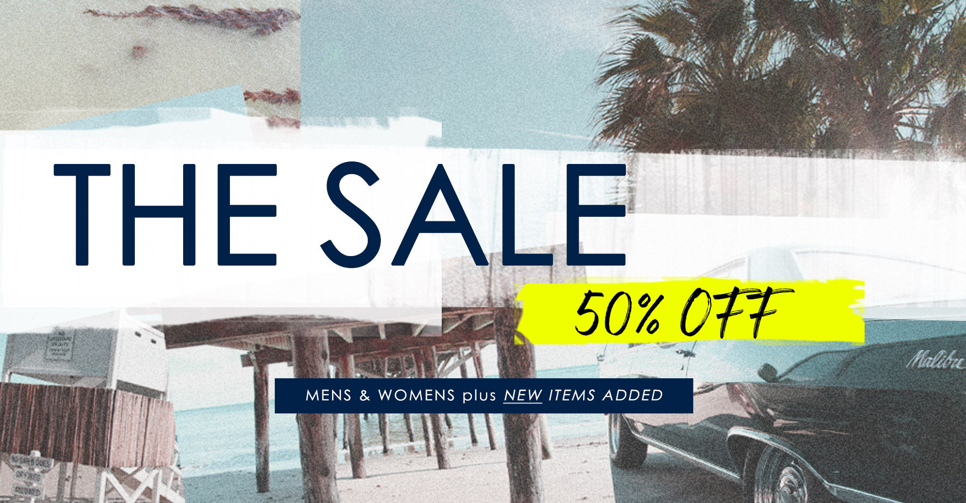 The Ron Herman Summer Sale Starts NOW 50% OFF Select Mens & Womens / Online Only Shop the Ron Herman 50% OFF Sale TODAY