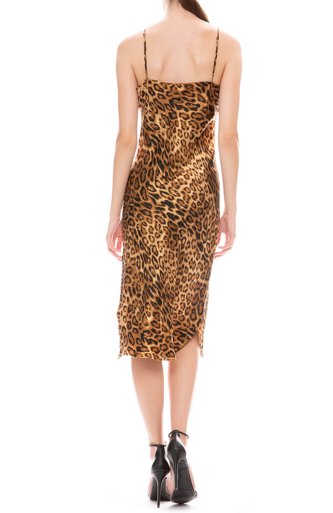 Leopard Short Cami Dress