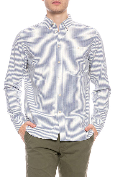 Permanents Stripe Button Down Shirt