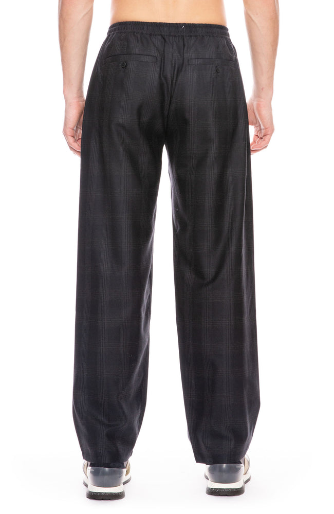 Samurai Wide Leg Virgin Wool Trousers