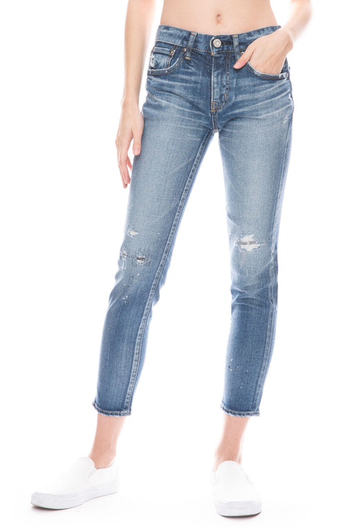 MV Lancaster Distressed Skinny Jean