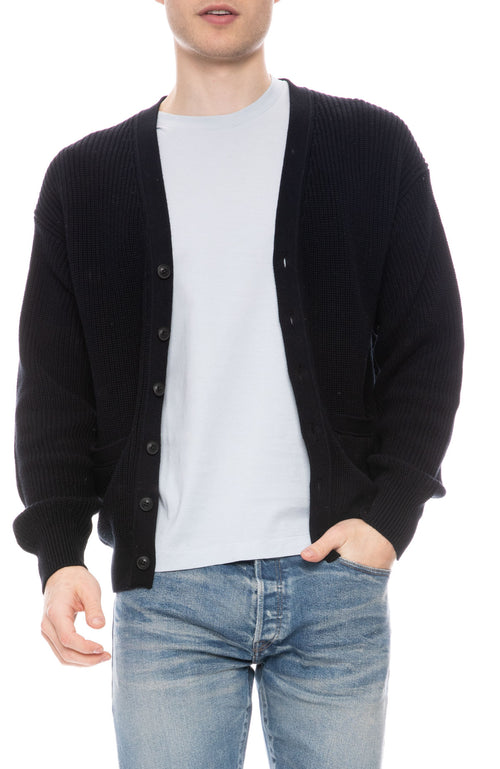 Middle Gauge Knit Cardigan