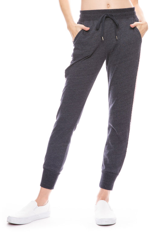 Tapered Sweatpant with Trim