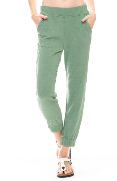Ruched Cuff Sweatpant