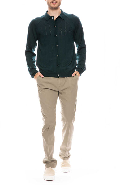 Apio Polo Cardigan