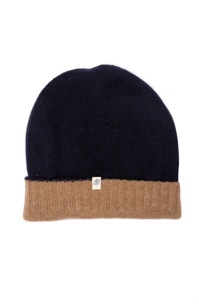 Reversible Cashmere Beanie