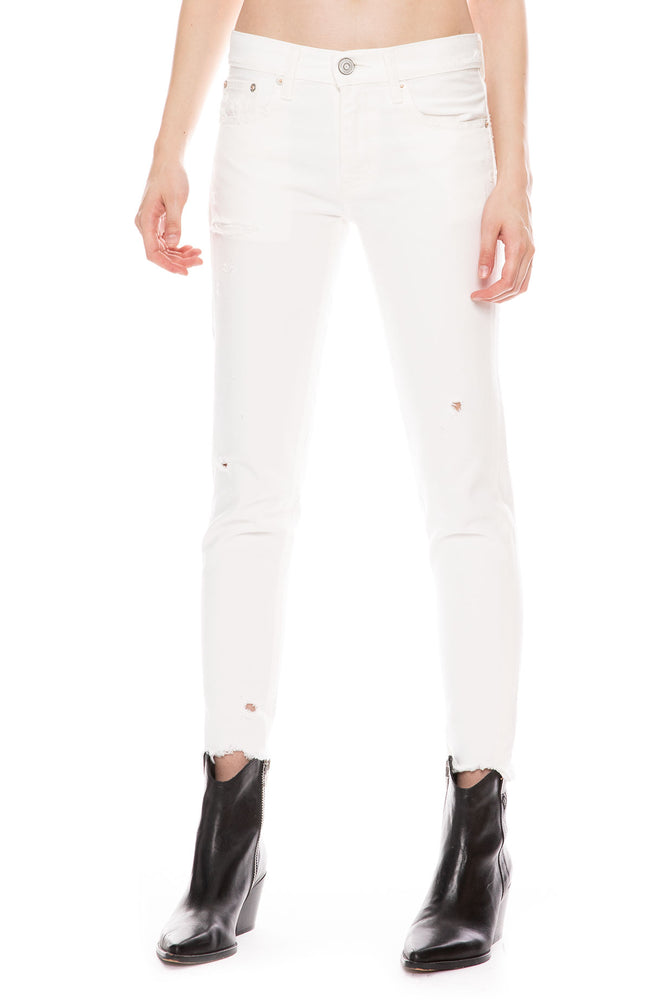 Kelley Tapered Skinny Jean in White